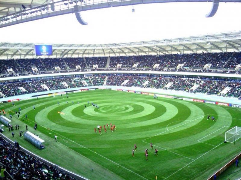 """Стадион """"Бунедкор"""" в Узбекистане"""