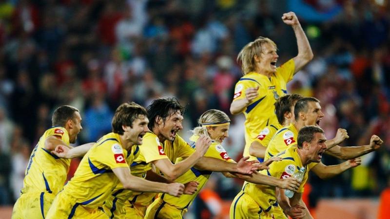 Украина побеждает Швейцарию в 1\8 финала ЧМ-2006