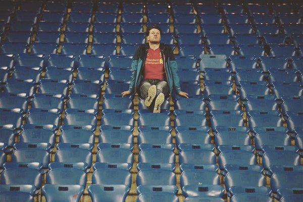 """Фан """"Ливерпуля"""" после проигрыша в финале Лиги Европы"""
