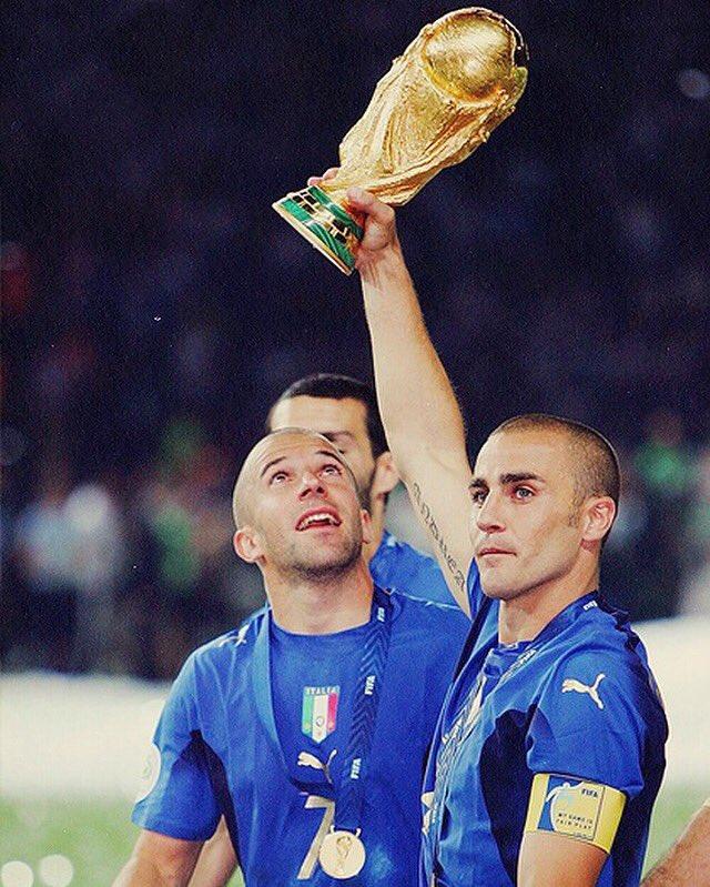 Дель Пьеро и Каннаваро - чемпионы мира-2006