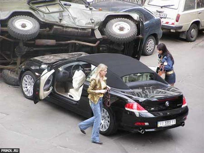 Женщины за рулем. Приколы с женщинами за рулем. Красотки и авто