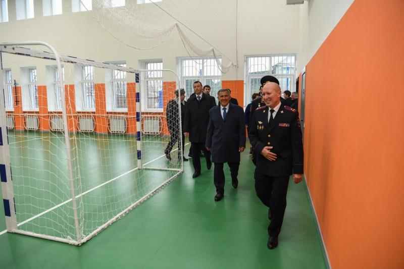 Открытие нового административного здания отдела полиции № 9