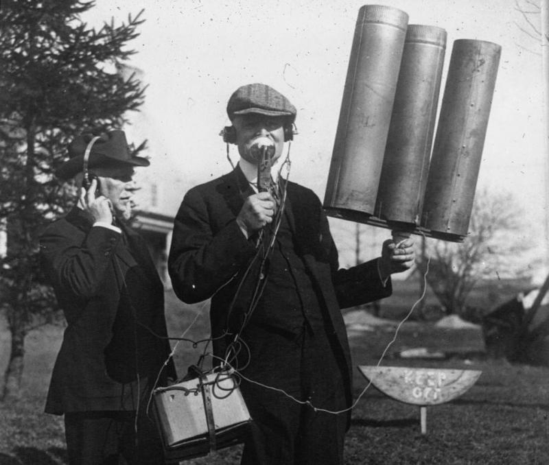 Первый беспроводной телефон, 1919