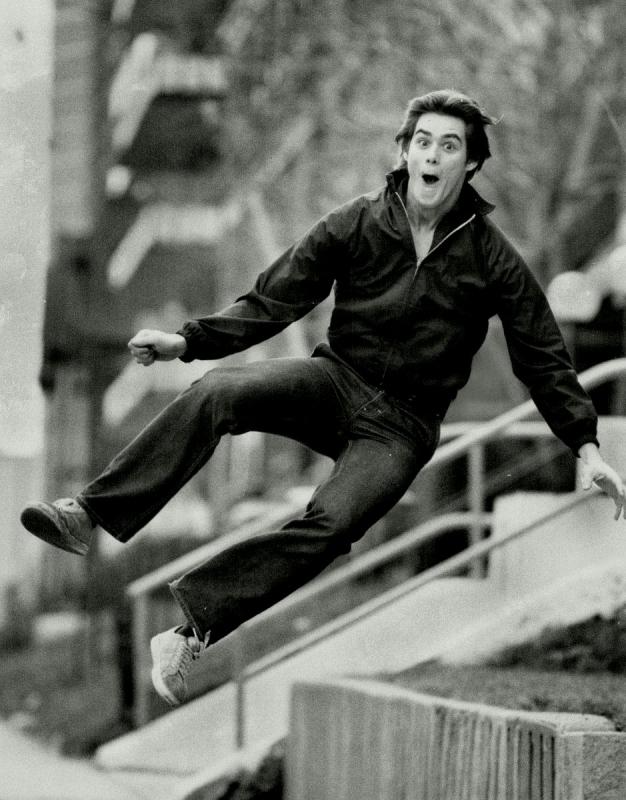 Джим Керри в возрасте 19 лет