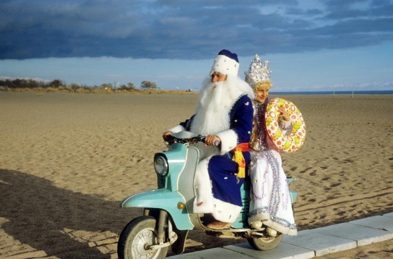 Дед Мороз и Снегурочка, СССР, 1980-е годы