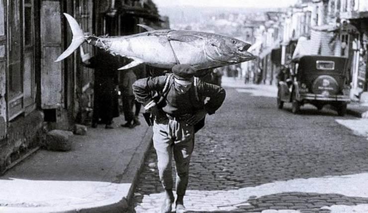Рыбак, Стамбул, 1930 год