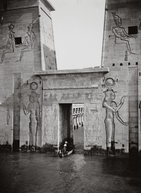 Затопленный храм Исиды Филы, Египет