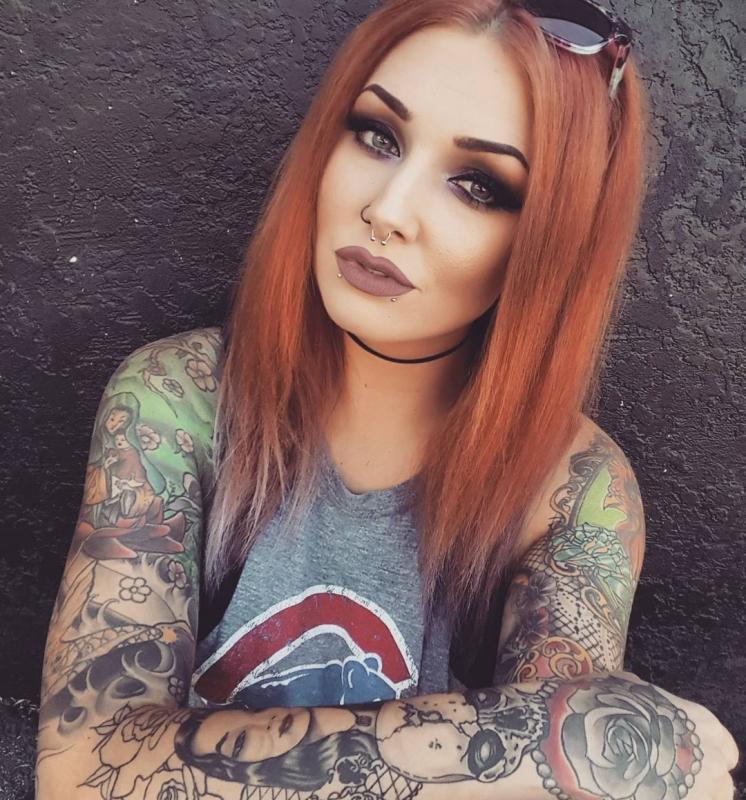 Tattoo girl instagram