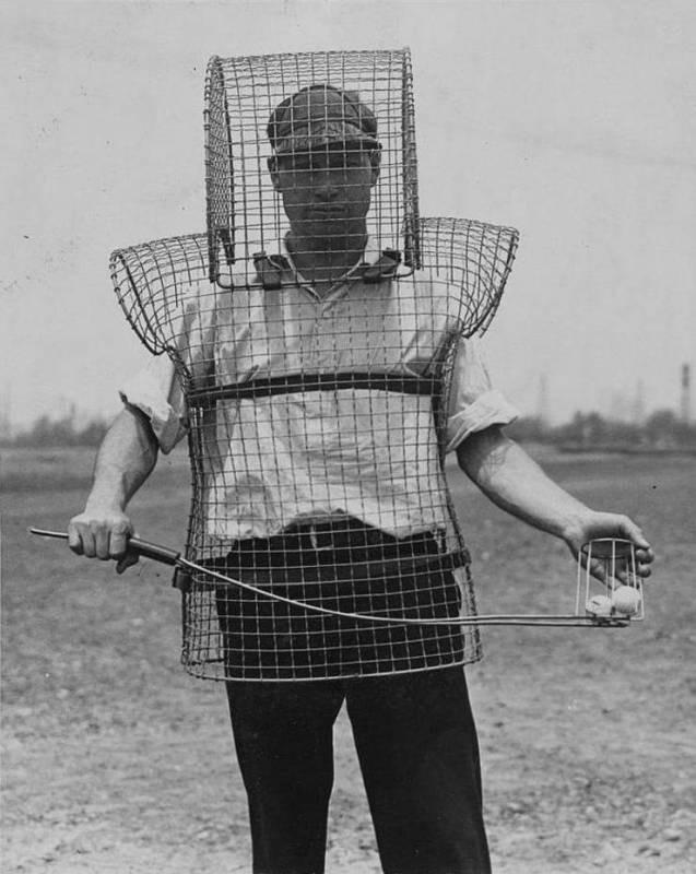 Сборщик мячей для гольфа, США, 1920-е годы