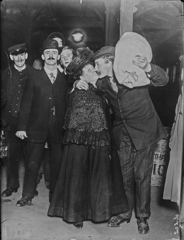 Выжившие пассажиры Титаника. 1912