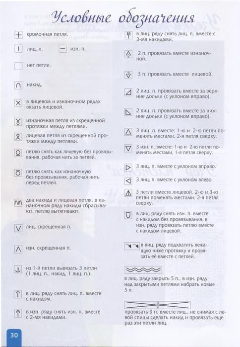 """Узоры спицами. журнал """"Секреты мастерства"""""""