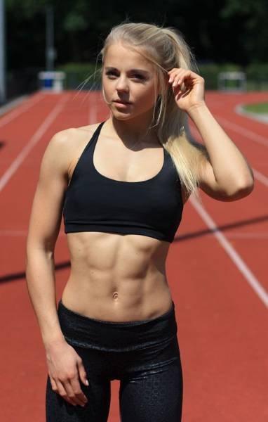 Спортивные девушки из Соц сетей