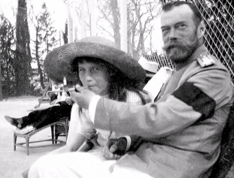 Редкие фото царской семьи Романовых