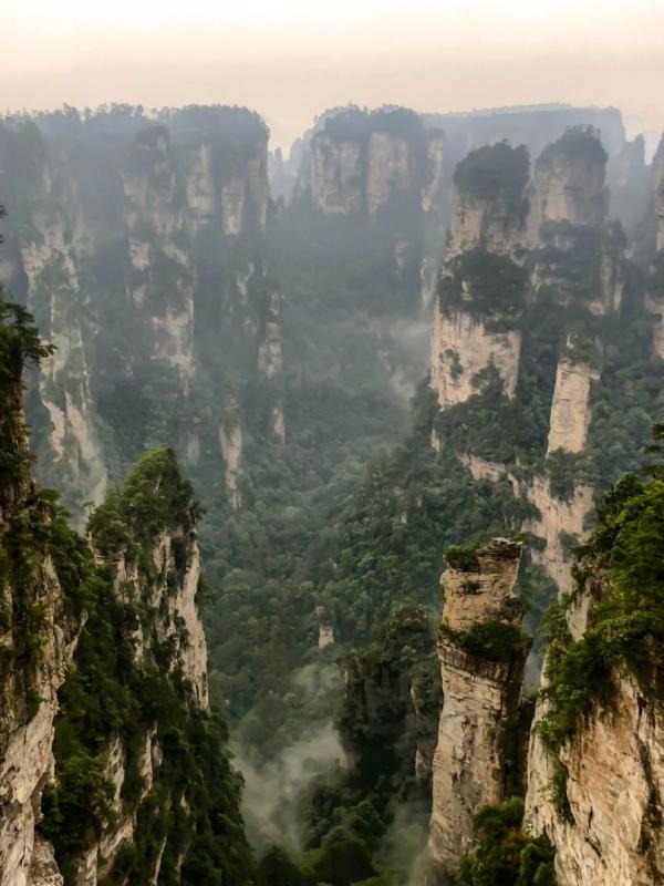 Чжанцзяцзе. Аватаровы горы