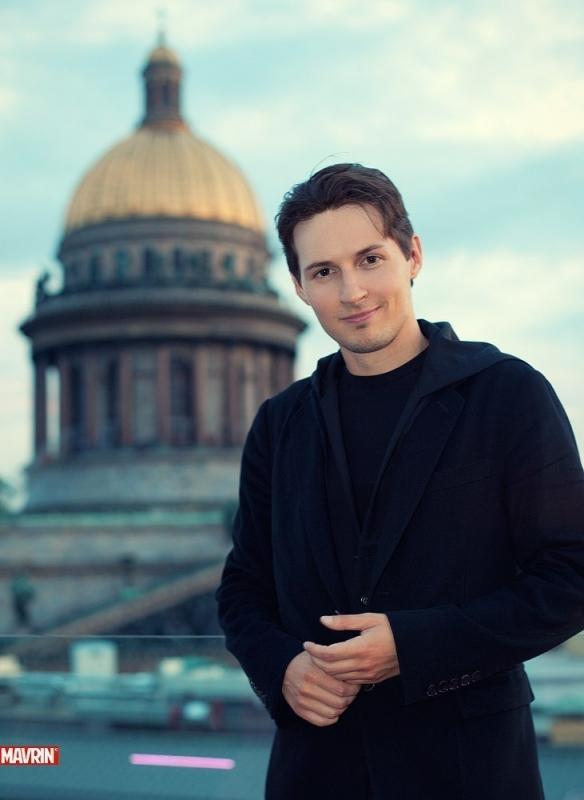 vk.com/durov Павел Дуров