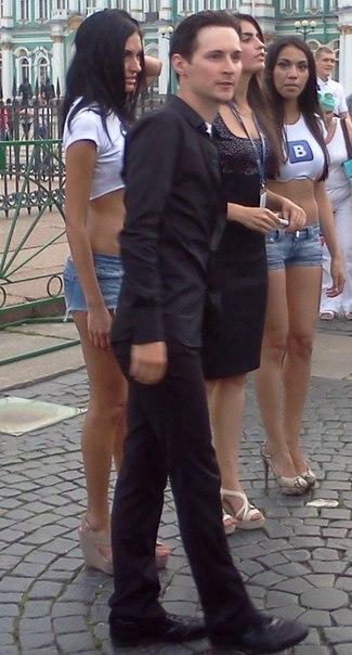 Pavel Durov 8 июля 2012 г. Флешмоб.