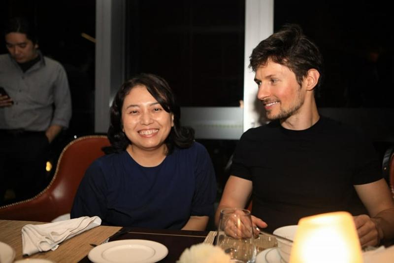 Павел Дуров в Индонезии