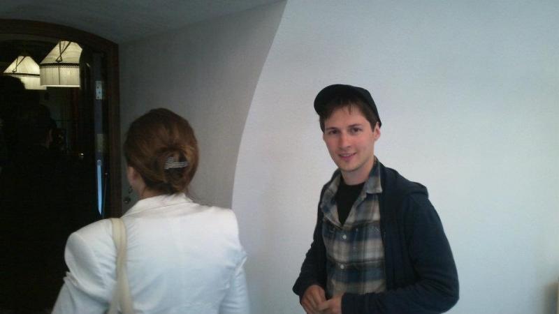 П. Дуров и Р. Кийосаки, 18.06.2012