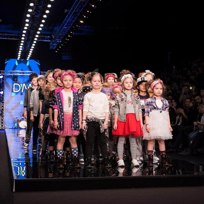 Детский мир представил новую коллекцию в стиле рок