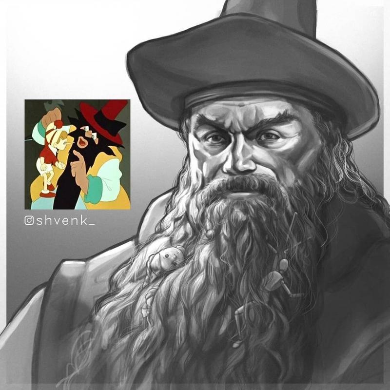 10 героев советских мультфильмов, нарисованных в более реалистичной стилистике
