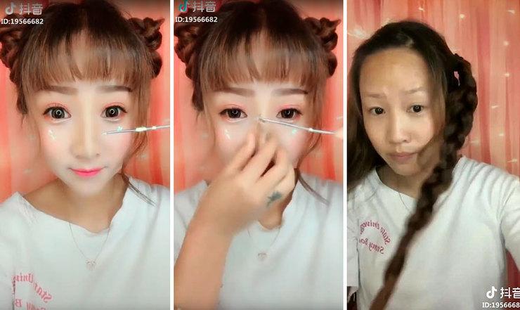 Сняла лицо: поразительные фото блогеров до и после снятия макияжа