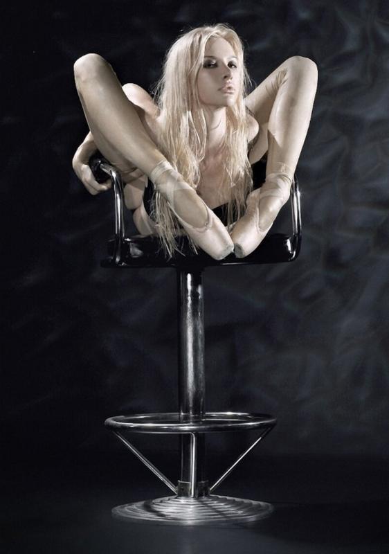 Самая гибкая женщина в мире Юлия Гюнтель