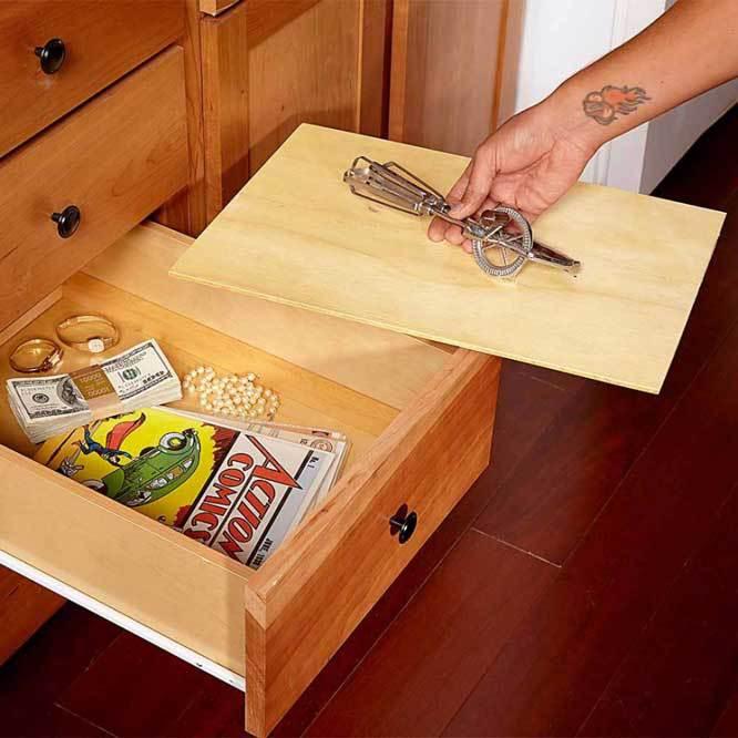 Необычные идеи для домашнего тайника