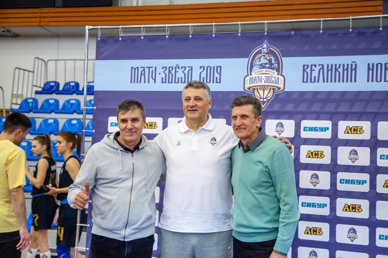 Матч звезд АСБ 2019.Мастер-класс в рамках сотрудничества с СИБУР