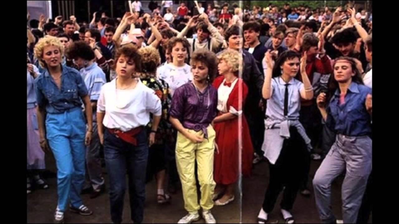 Мода 80-х - 90-х