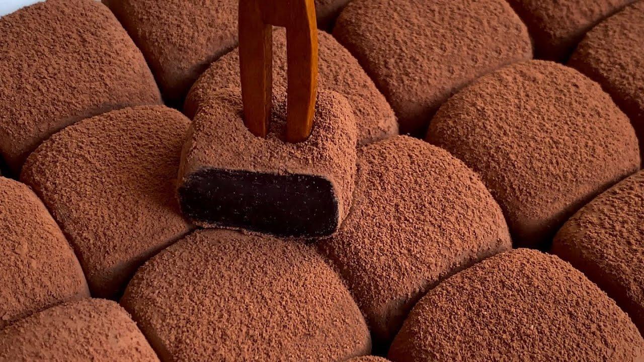 Простой способ приготовления шоколада из домашней сгущенки (4 ингредиента)