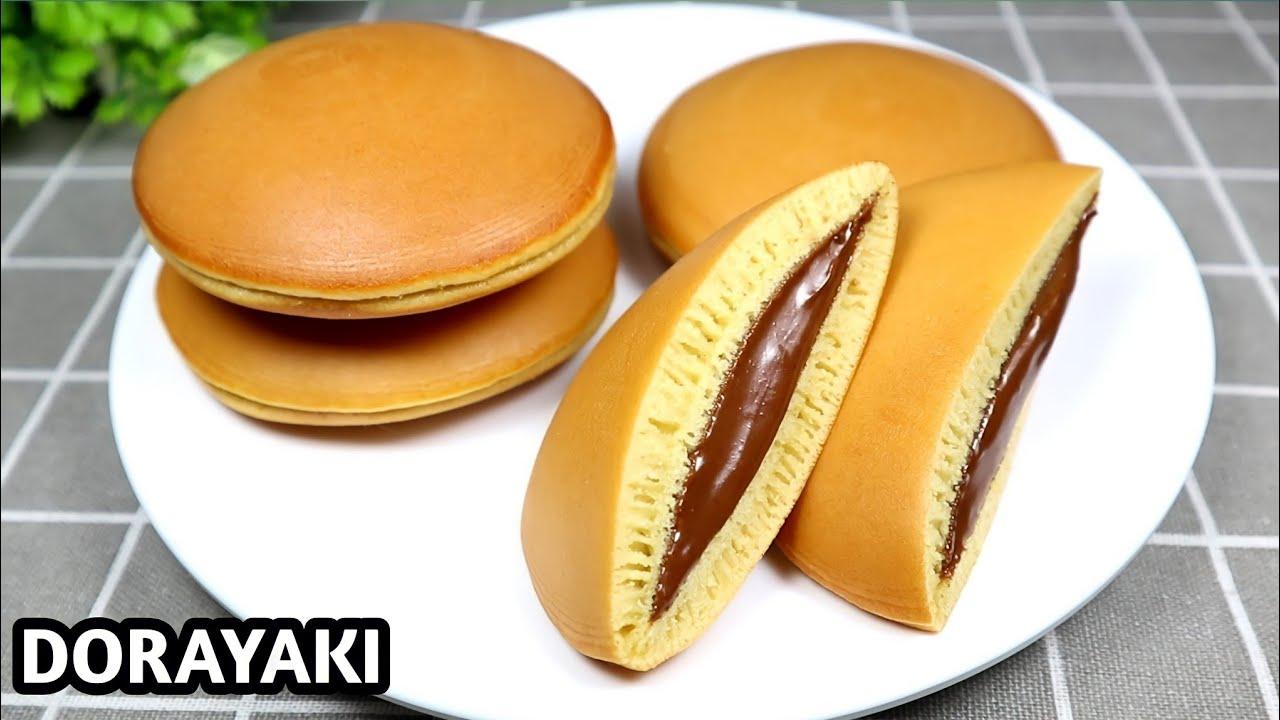 RESEP DORAYAKI | JAPANESE PANCAKE DORAYAKI