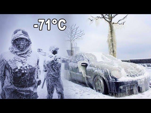 Вот как выживают люди в самом холодном месте на Земле!..