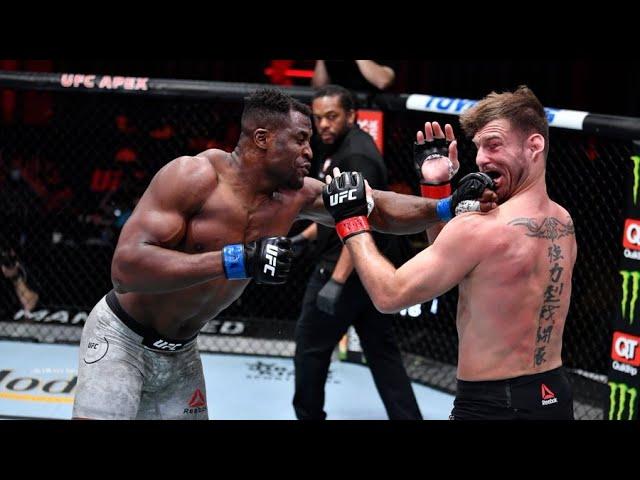 Стипе Миочич vs Фрэнсис Нганну 2 | Главный бой UFC 260 | Обзор | FightSpace