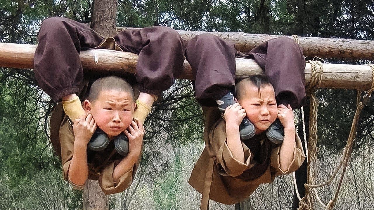 Вот Как Проходят Тяжелые и Беспощадные Тренировки Монахов Шаолинь