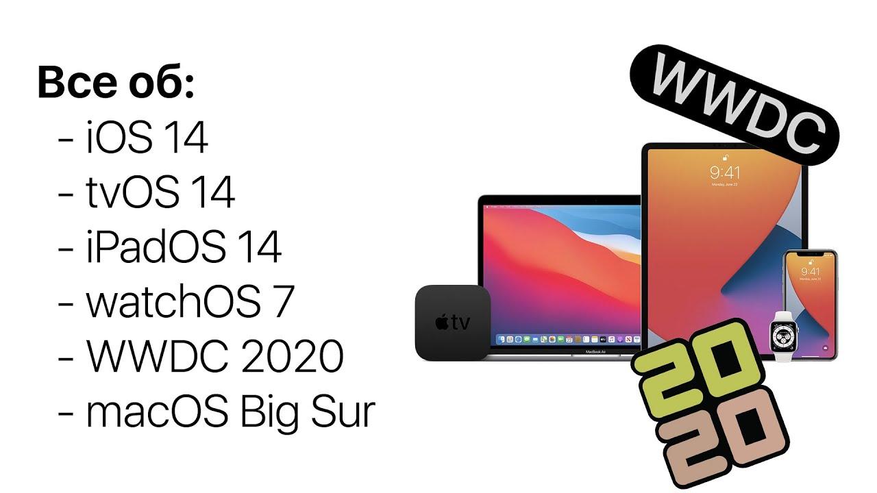 Вся презентация iOS 14 за 14 минут на русском. Все, что показали на WWDC 2020!