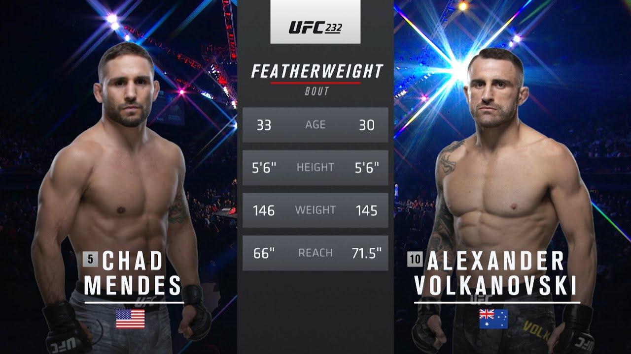 UFC 260 Free Fight: Alexander Volkanovski vs Chad Mendes