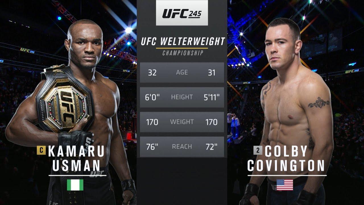 UFC 258 Free Fight: Kamaru Usman vs Colby Covington