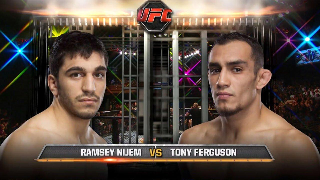 UFC Debut: Tony Ferguson vs Ramsey Nijem | Free Fight