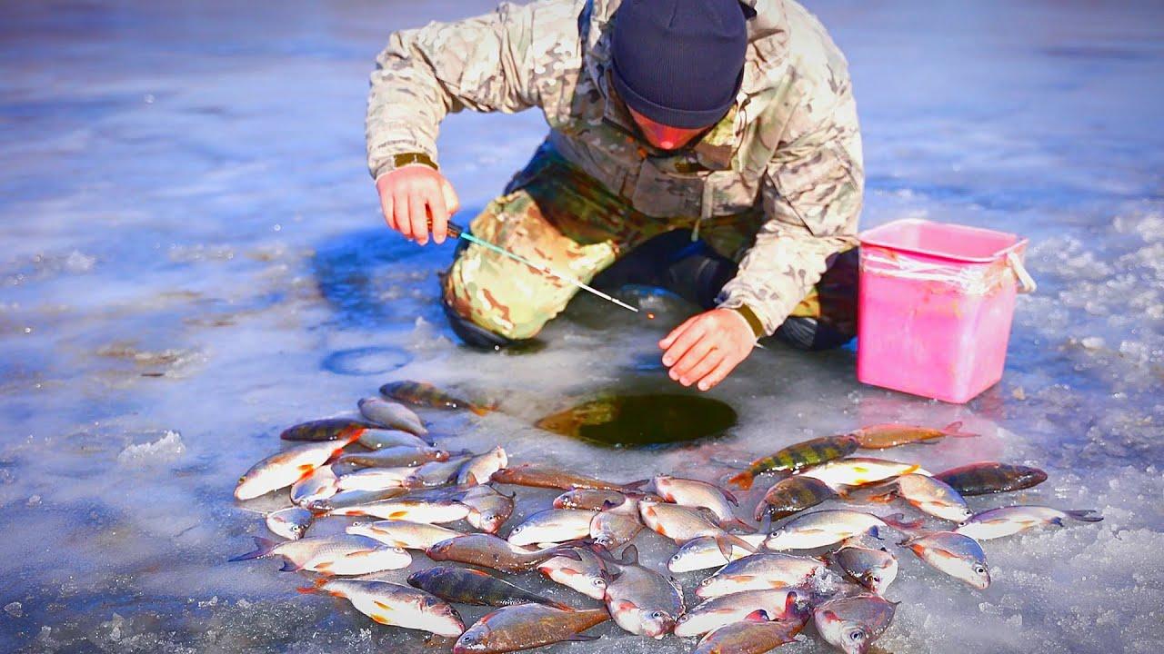 РЫБАЛКА. ОПАСНЫЙ АСТРАХАНСКИЙ ЛЁД. Зимняя рыбалка по последнему льду.