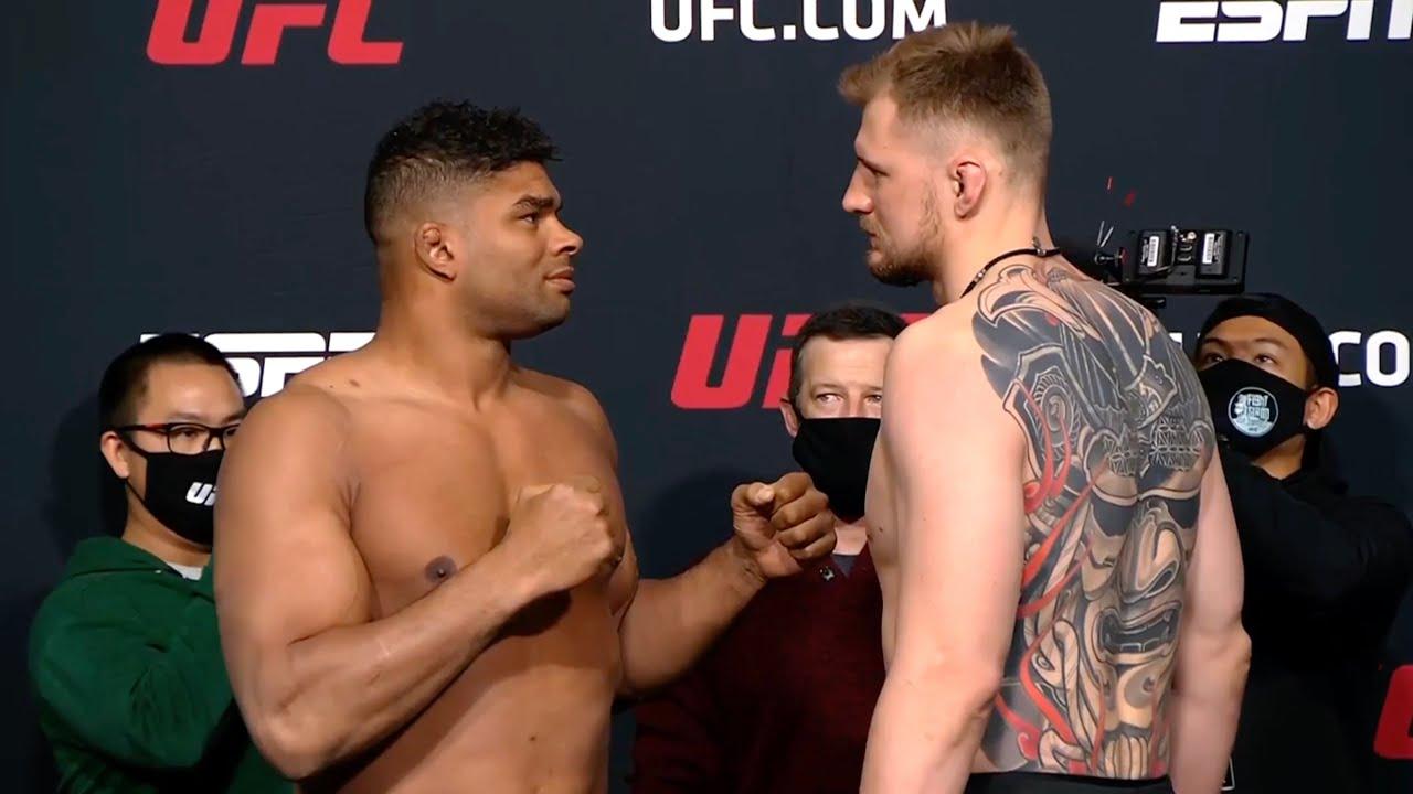 UFC Вегас 18: Оверим vs Волков - Битва взглядов