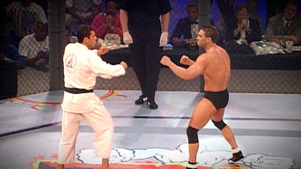 UFC 5 Free Fight: Ken Shamrock vs Royce Gracie (1995)