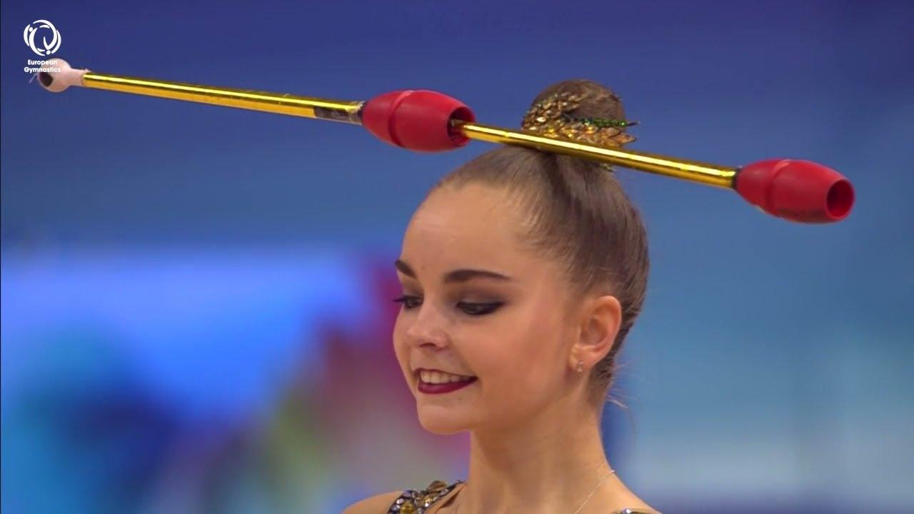 Arina AVERINA (RUS) - 2021 Rhythmic European Champion, all-around