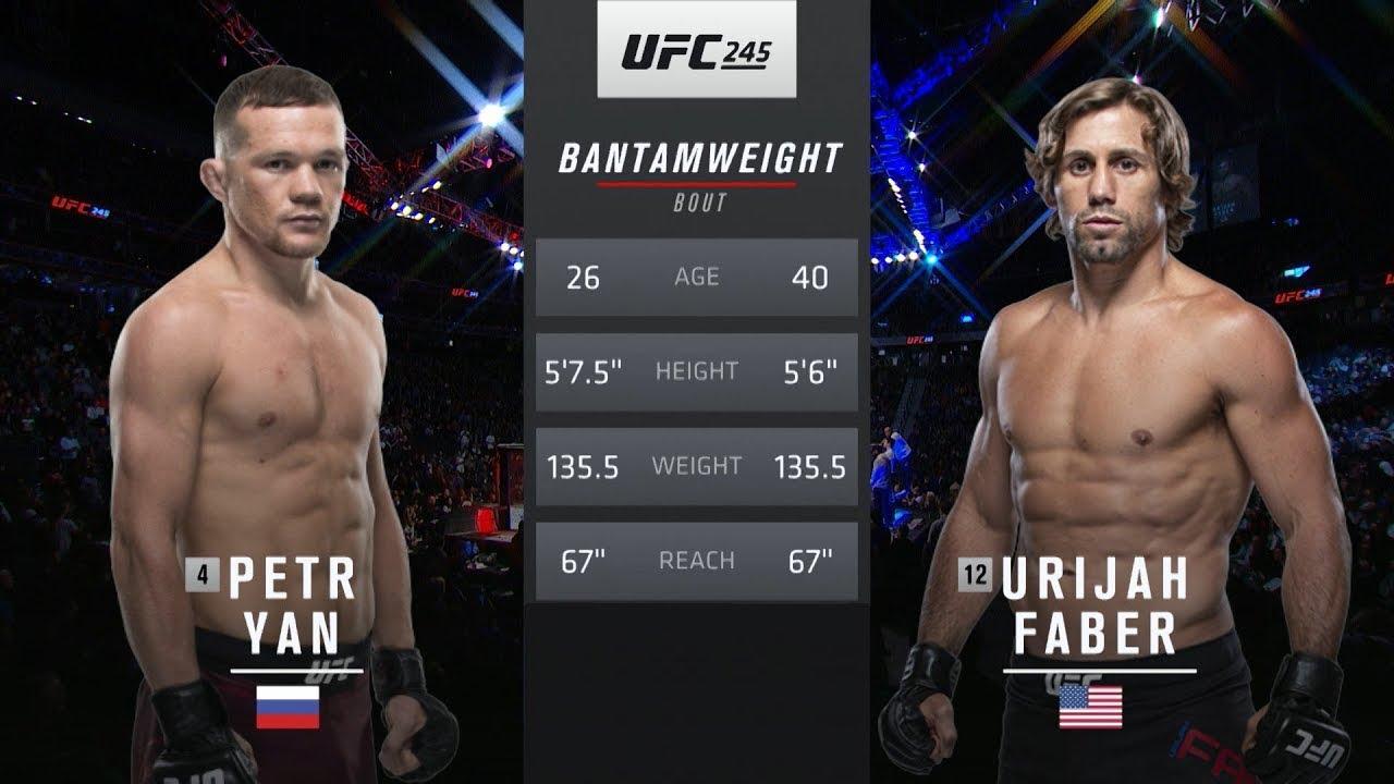 Петр Ян vs Юрайя Фэйбер: Вспоминаем бой