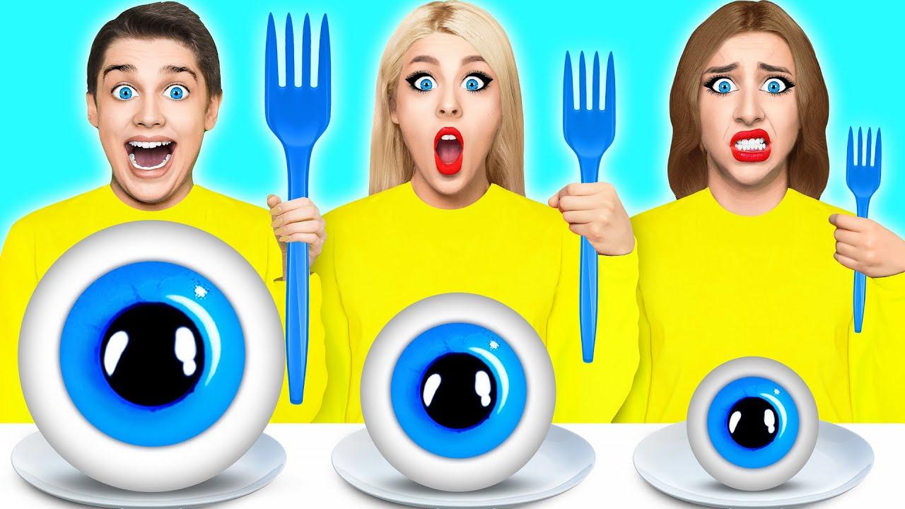 Большая, Средняя или Маленькая тарелка Челлендж #8 от Multi DO Challenge
