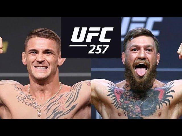 UFC 257:Дастин Порье vs Конор Макгрегор//ПОЛНЫЙ БОЙ!!