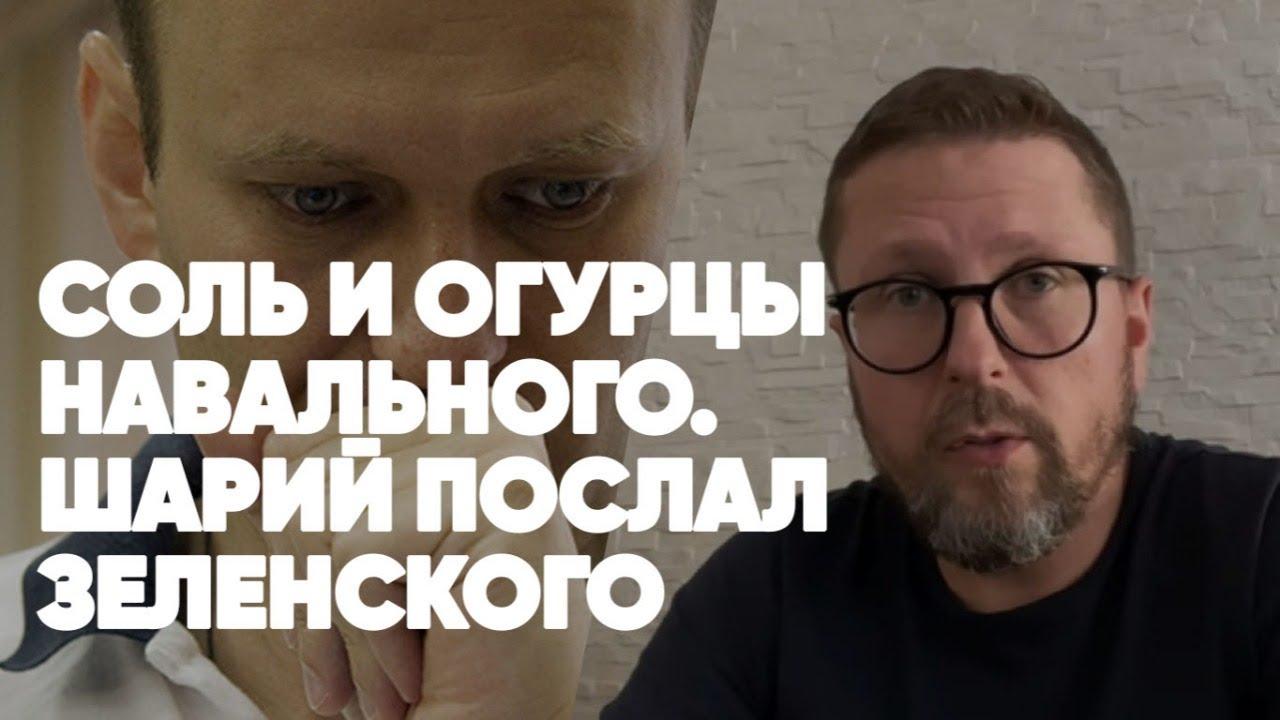Соль и огурцы Навального | Шарий в эфире | Эксклюзив | Полный Контакт | Соловьёв LIVE