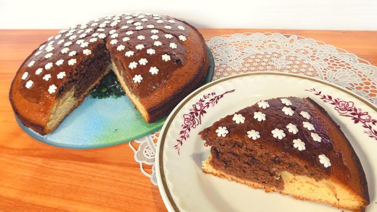 Пирог к чаю с медовым вкусом. Простой рецепт пирога на молоке приготовленного в духовке.