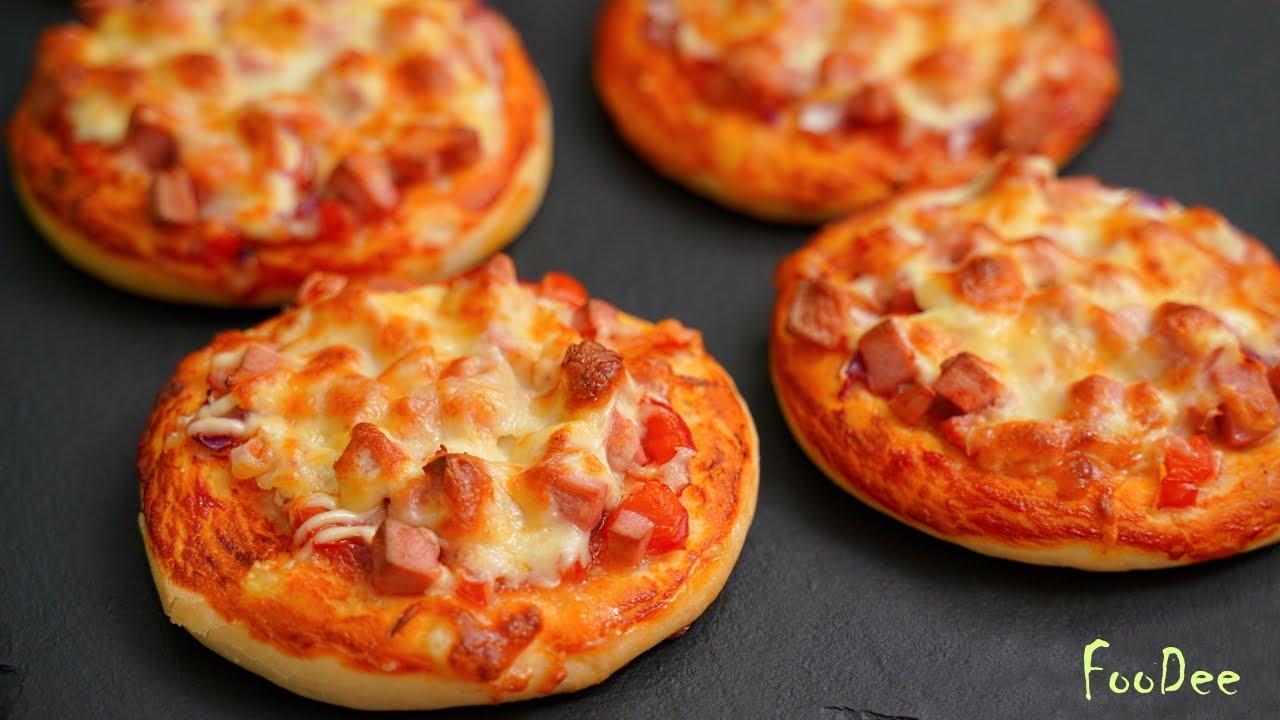 Домашние мини пиццы из детства! Школьная пицца - ОЧЕНЬ вкусный и простой рецепт!