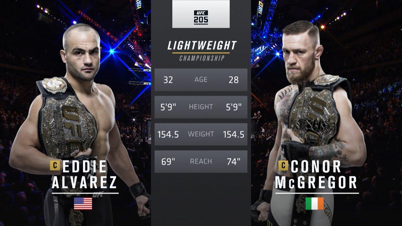 UFC 257 Free Fight: Conor McGregor vs Eddie Alvarez