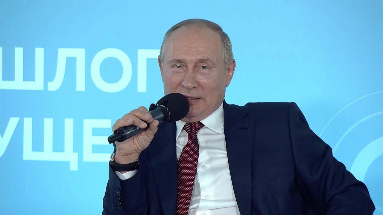 Школьник поправил Путина в вопросе про Северную войну во время открытого урока